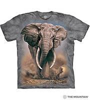 3D футболка мужская The Mountain р.M 48-50 RU футболки с 3д принтом рисунком - Африканский Слон