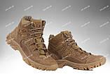Тактична зимове взуття / військові, армійські черевики Tactic HARD Gen.II (крейзі), фото 2