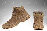 Тактична зимове взуття / військові, армійські черевики Tactic HARD Gen.II (крейзі), фото 4