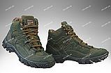 Тактична зимове взуття / військові, армійські черевики Tactic HARD Gen.II (крейзі), фото 8