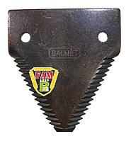 Сегмент ножа жатки Balmet крупная насечка 14Z, 611203 (767936) Claas