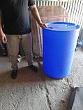 Бочка 200 литров (евро) пищевая, фото 4
