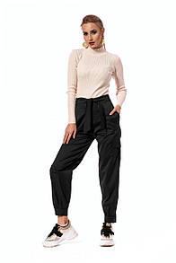 Черные спортивные штаны с карманами