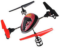 Квадрокоптер с яркой подсветкой с 4 скоростями с акробатическими переворотами WL Toys V949 UFO Force фиолет