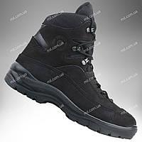 Тактические зимние ботинки / армейская военная обувь GROM (черный)
