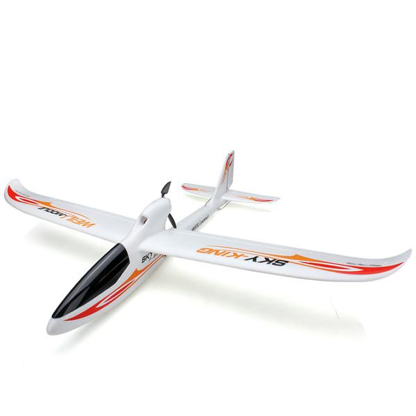 Планер самолёт на радиоуправлении для обучения полётам 3-канальный WL Toys F959 Sky King