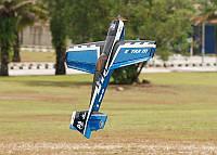 Модель самолета для сборки на радиоуправлении Aerobatics Extra MX 1472мм KIT синий