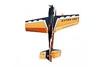 Модель самолета для сборки на радиоуправлении Aerobatics Extra MX 1472мм KIT желтый