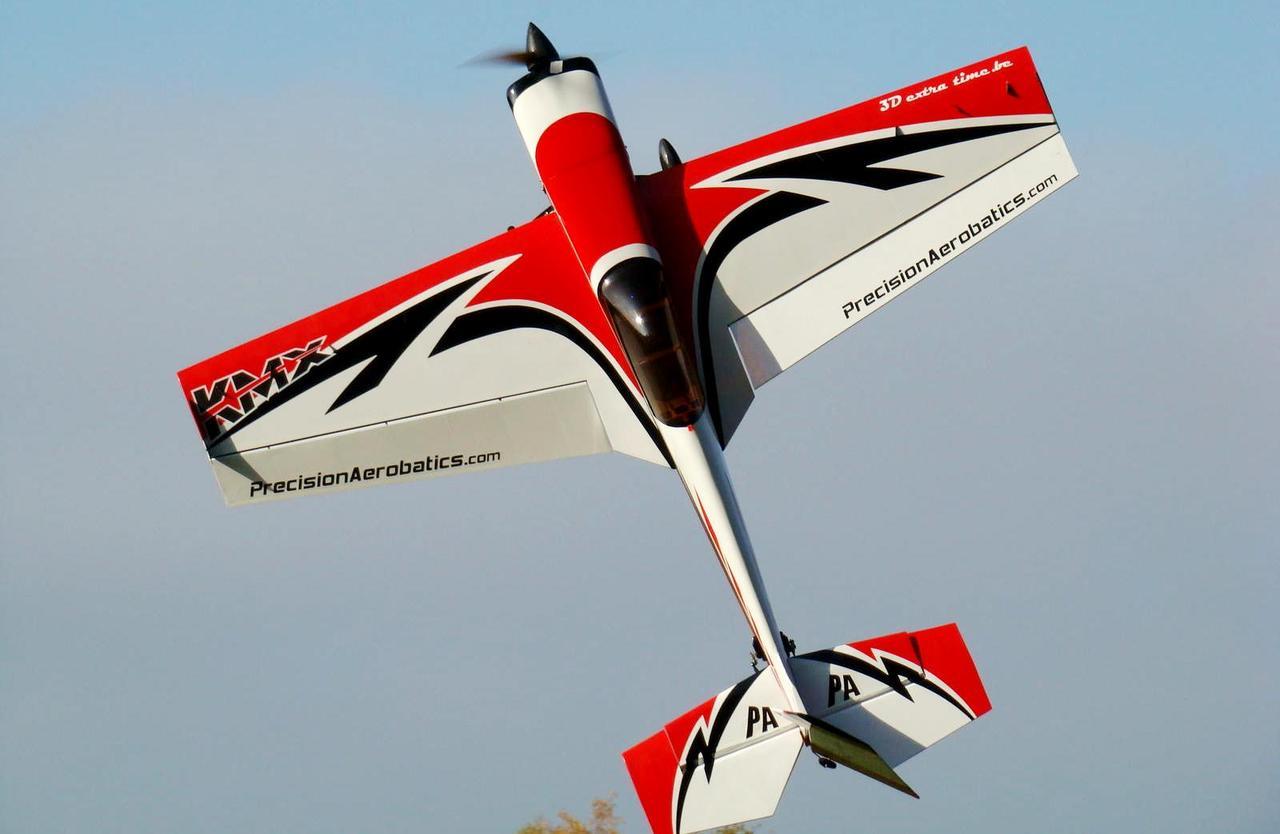 Модель самолета для сборки на радиоуправлении Precision Aerobatics Katana MX 1448мм KIT красный