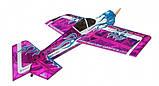 Самолёт р/у Precision Aerobatics Addiction XL 1500мм KIT (фиолетовый), фото 2
