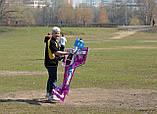 Самолёт р/у Precision Aerobatics Addiction XL 1500мм KIT (фиолетовый), фото 5