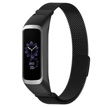 Миланский ремешок Primo для фитнес браслета Samsung Galaxy Fit E ( SM-R375 ) - Black