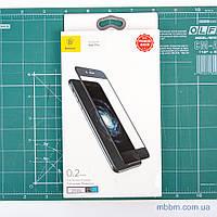 "Защитное стекло Baseus Silk-screen Blue Protection iPhone 8/7 {4.7""} Black (SGAPIPH7-HES01) EAN/UPC: 6953156265851"