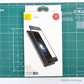 "Защитное стекло Baseus Silk-screen Blue Protection iPhone 8/7 {4.7""} Black (SGAPIPH7-HES01) EAN/UPC:"