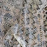 Платок Гребешок s-00062-120, белый, оренбургский платок, фото 4