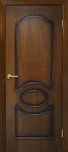 Дверь межкомнатная Омис Виктория ПГ орех лесной