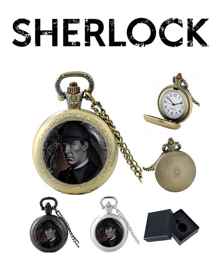 Карманные часы Шерлок/ Sherlock
