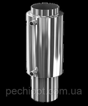 Теплообменник на дымоход Ø 115 L=526мм для бани и сауны, фото 2