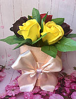 Цветочный букет из мыла  № 1