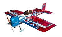 Самолёт р/у Precision Aerobatics Addiction XL 1500мм KIT (красный), фото 1
