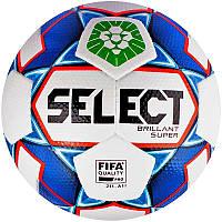 Футбольный мяч Select Brillant Super PFL Размер 5