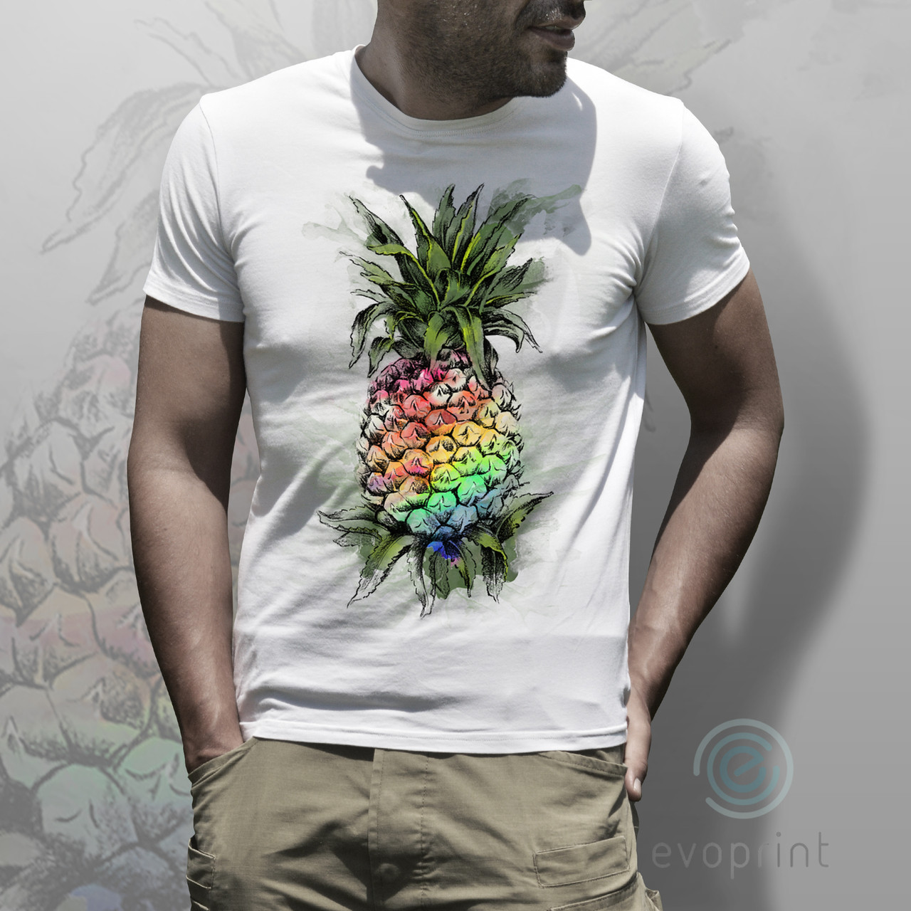 Услуги печати принтов на футболки