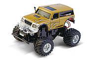 Машинка джип на радиоуправлении 1:58 Great Wall Toys 2207 коричневая