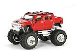 Машинка на радиоуправлении джип 1:43 Great Wall Toys Hummer (красный), фото 2