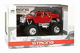 Машинка на радиоуправлении джип 1:43 Great Wall Toys Hummer (красный), фото 4