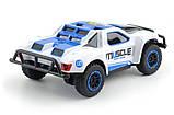 Машинка на радиоуправлении с резиновыми колёсами полноприводная 1:43 HB Toys Muscle синяя, фото 3