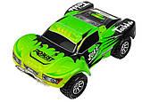 Автомодель внедорожник полноприводный шорт-корс радиоуправляемая 1:18 WL Toys A969 4WD зеленая, фото 3