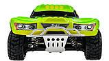 Автомодель внедорожник полноприводный шорт-корс радиоуправляемая 1:18 WL Toys A969 4WD зеленая, фото 5