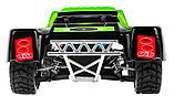 Автомодель внедорожник полноприводный шорт-корс радиоуправляемая 1:18 WL Toys A969 4WD зеленая, фото 6