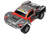 Автомодель внедорожник полноприводный шорт-корс радиоуправляемая 1:18 WL Toys A969 4WD серая, фото 3