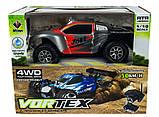 Автомодель внедорожник полноприводный шорт-корс радиоуправляемая 1:18 WL Toys A969 4WD серая, фото 8