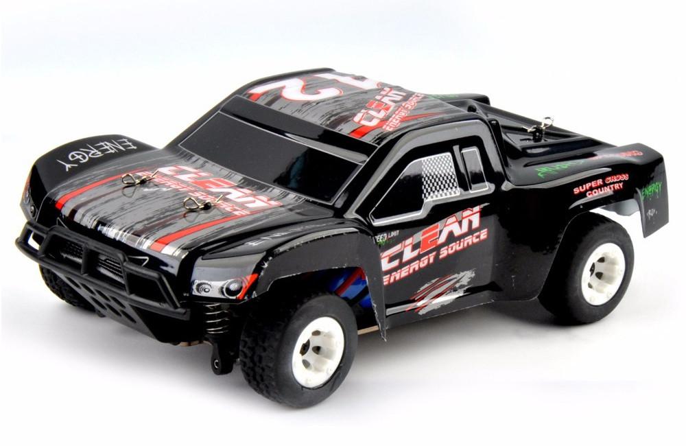 Автомодель внедорожник полноприводный шорт-корс радиоуправляемая 1:24 WL Toys A232-V2 4WD