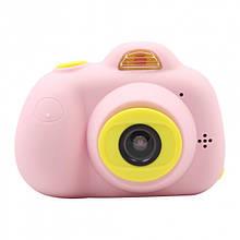Фотокамера для детей Kids Camera c дисплеем (розовая)