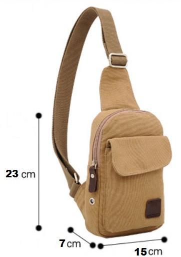 Сумка - барсетка через плечо Bmain- Армейский стиль (Тканевая) Туристическая, Спортивная, Мужская (чоловiча)