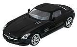 Машинка радиоуправляемая 1:14 Meizhi Mercedes-Benz SLS AMG (черный), фото 2
