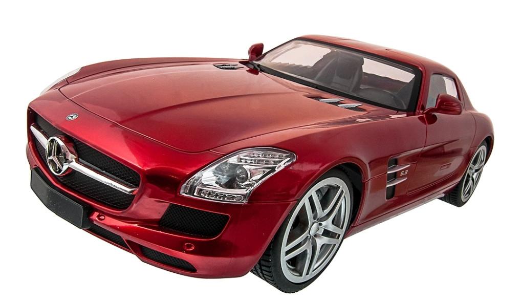 Машинка радиоуправляемая 1:14 Meizhi Mercedes-Benz SLS AMG (красный)