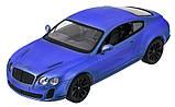 Машинка радиоуправляемая 1:14 Meizhi Bentley Coupe (синий), фото 2
