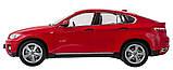 Машинка радиоуправляемая 1:14 Meizhi BMW X6 (красный), фото 4