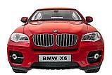 Машинка радиоуправляемая 1:14 Meizhi BMW X6 (красный), фото 5