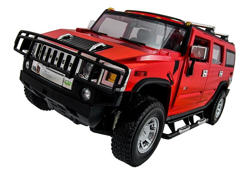 Машинка радиоуправляемая 1:14 Meizhi Hummer H2 (красный)