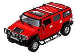 Машинка радиоуправляемая 1:14 Meizhi Hummer H2 (красный), фото 2