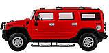 Машинка радиоуправляемая 1:14 Meizhi Hummer H2 (красный), фото 4