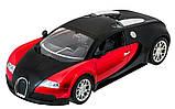 Машинка радиоуправляемая 1:14 Meizhi Bugatti Veyron (красный), фото 2