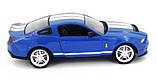 Машинка радиоуправляемая копия автомобиля Ford GT500 Mustang в масштабе 1:14 синяя, фото 3