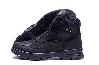 Мужские зимние кожаные ботинки в стиле Ecco biom, фото 3