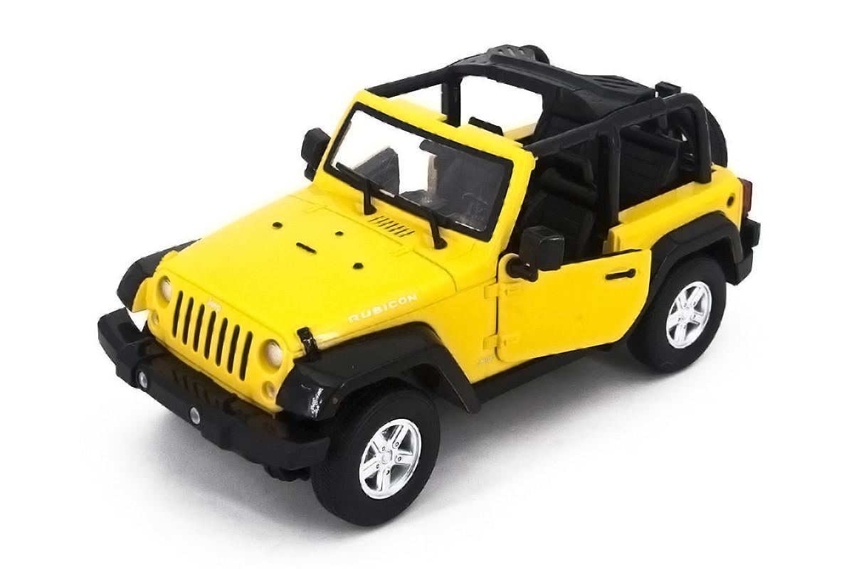 Машинка радиоуправляемая 1:14 Meizhi Jeep Wrangler (желтый)